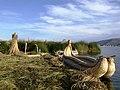 Reed boat Isla de Los Uros.JPG