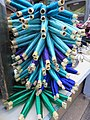 Reels of cactus silk threads.JPG