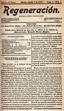 Ricardo flores mag n wikipedia la enciclopedia libre for Estructura del periodico mural wikipedia