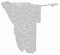 Regionen und Wahlkreise in Namibia hellgrau.png