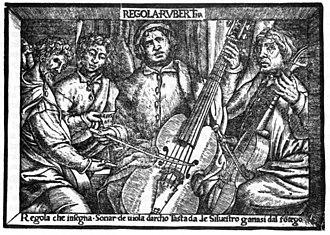 Silvestro Ganassi dal Fontego - Regola Rubertina
