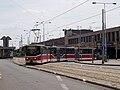 Reko TT Anděl - Sídliště Řepy, smyčka Smíchovské nádraží, odkloněná linka 9, výjezd.jpg