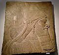 Relief from the palace of the Assyrian king Assurnasirpal II at Nimrud, 9th cent. BCE, Ny Carlsberg Glyptotek, Copenhagen (3) (36251356512).jpg