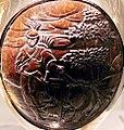 Reliquiari con noce di cocco intagliata di fattura forse giapponese, montatura in argento del 1693, 01 (cropped).jpg