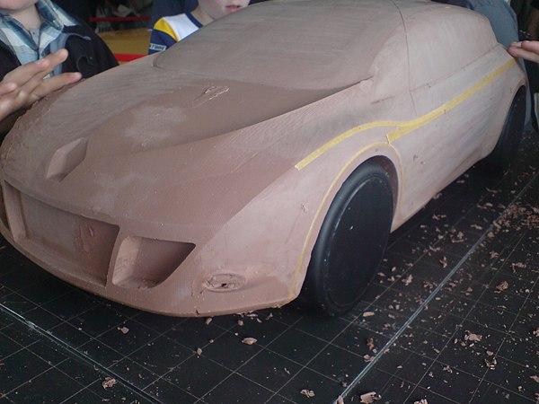General Motors Wikipedia >> Clay modeling