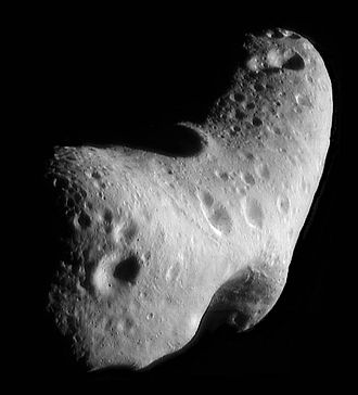 Amor asteroid - Amor asteroid Eros visited by NEAR Shoemaker in 2000