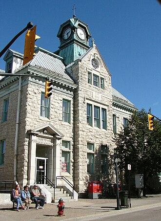 Renfrew, Ontario - Historic Customs Building, now Renfrew's Post Office