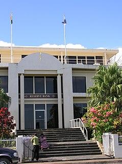 Reserve Bank of Vanuatu The central bank of Vanuatu