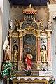Retable de la Sainte Famille de l'église Saint-Jacques d'Assyrie (Hauteluce, Savoie, France).jpg