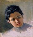 Retrat de noia - Joan Brull, Museu Abelló 1662.png