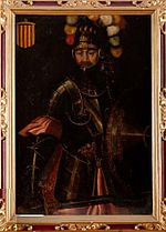Retrat imaginari de Ramon Berenguer III de Barcelona - Filippo Ariosto (1587-1588).jpg