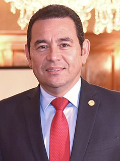 Jimmy Morales Guatemalan politician, film director and film producer