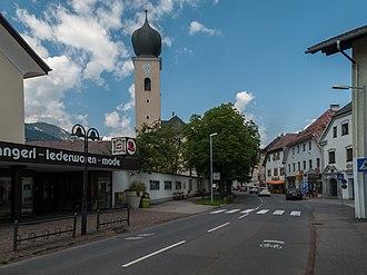 Reutte - Church tower, Reutte Friary