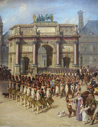 Hippolyte Bellangé - Image: Revuesousl'empire