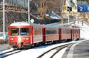 Chur S-Bahn - Image: Rh B Be 515