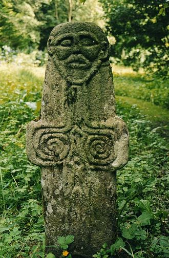 Colonsay - The Riasg Buidhe Cross
