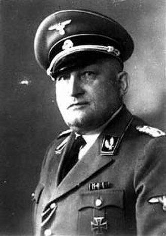 77th SS-Standarte - Richard Glücks, early member and commander of the 77th Standarte