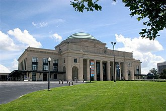 Broad Street Station (Richmond) - The Science Museum of Virginia currently occupies the old Broad Street Station building