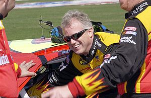 Ricky Rudd - Rudd at Daytona International Speedway in 2005