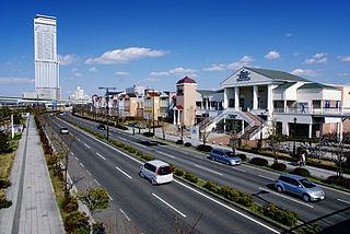 Izumisano, Osaka City in Kansai, Japan