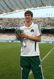 Spyros Risvanis Greek footballer
