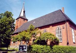 Ritterhude, ev.-luth. St.-Johannis-Kirche aus dem 18. Jh.