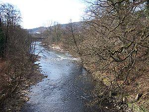 Abercynon - Image: River Cynon Abercynon Aberdare Blog