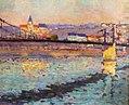 Robert Antoine Pinchon, 1904, Triel sur Seine, le pont du chemin de fer, 46 x 55 cm.jpg