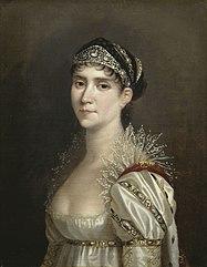 L'Impératrice Joséphine en robe de cour à chérusques