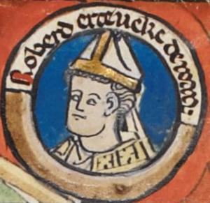 Robert II (archbishop of Rouen) - Image: Robert le Danois MS Royal 14 B VI