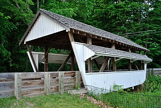 Rock Mill Covered Bridge - Image: Rock Mill Covered Bridge
