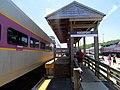 Rockport station mini-high platform, July 2016.JPG