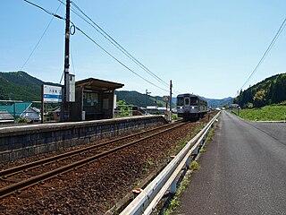 Rokutanji Station Railway station in Shimanto, Kōchi Prefecture, Japan