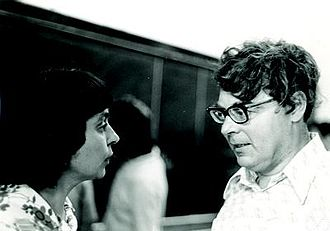Roland Dobrushin - Image: Roland Dobrushin and Elena Sinai Vul