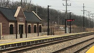 Romeoville, Illinois - Romeoville station (Metra)