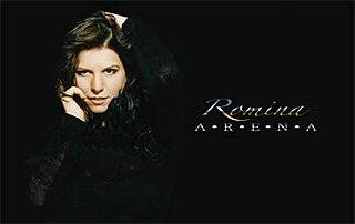 Romina Arena Italian-American singer-songwriter