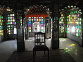 Room with coloured windows, City Palace. Udaipur.jpg