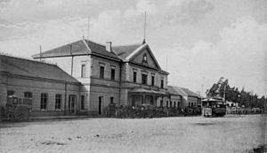 Rosario Norte Station - Rosario Norte, c. 1900.