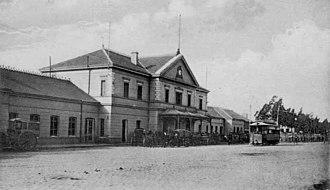 Rosario Norte Station - Rosario Norte, c. 1900.