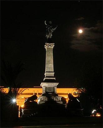 Monument of Liberty, Ruse - Image: Rousse monument freedom nedko