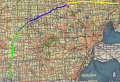 Route of I-69 in 1957 annotated.png