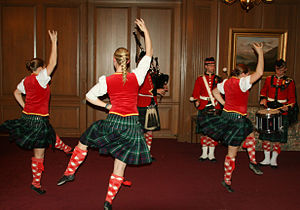 Scottish highland dance - Royal Military College of Canada Scottish highland dance, piper, drummers