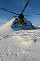 Royal Navy Sea King Helicopter Carrying out Arctic Trials MOD 45155015.jpg