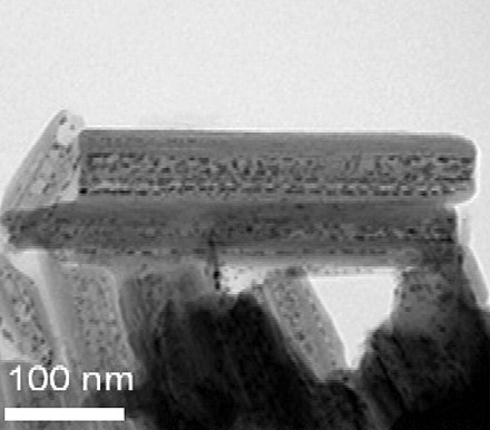 Halloysite nanotubes intercalated with ruthenium catalytic nanoparticles. Ru-intercalated halloysite nanotubes 3.jpg