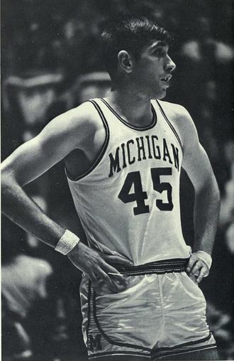 Rudy Tomjanovich - Tomjanovich from 1970 with Michigan