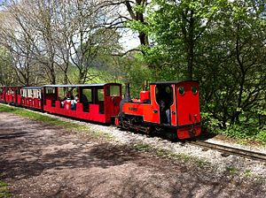 Ten and a quarter inch gauge - Rudyard Lake Steam Railway