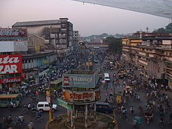 A file photo of a busy Chittagong street. Image: Bruno Le Bansais.