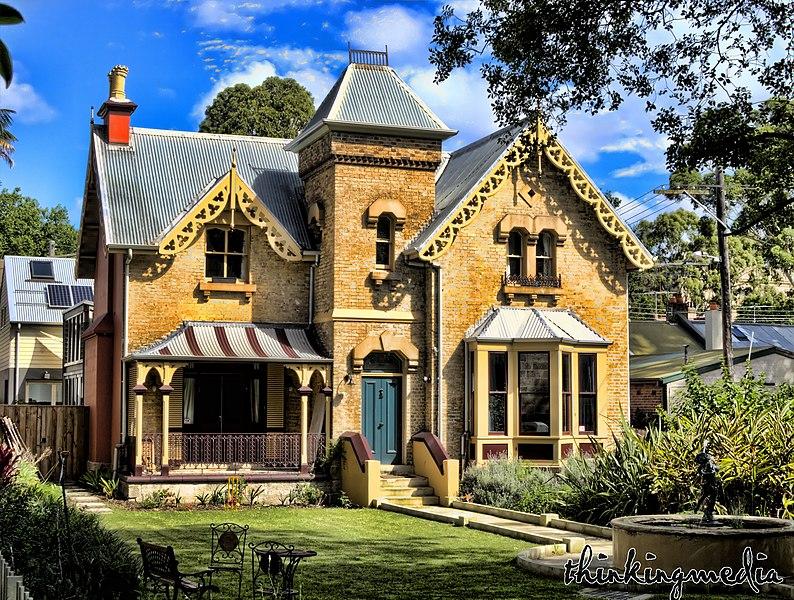 Victorian Landscape Victorian Homes Victorian Architecture Victorian