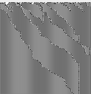 Asynchronous updating cellular automata