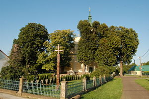 Ruská near the church.JPG
